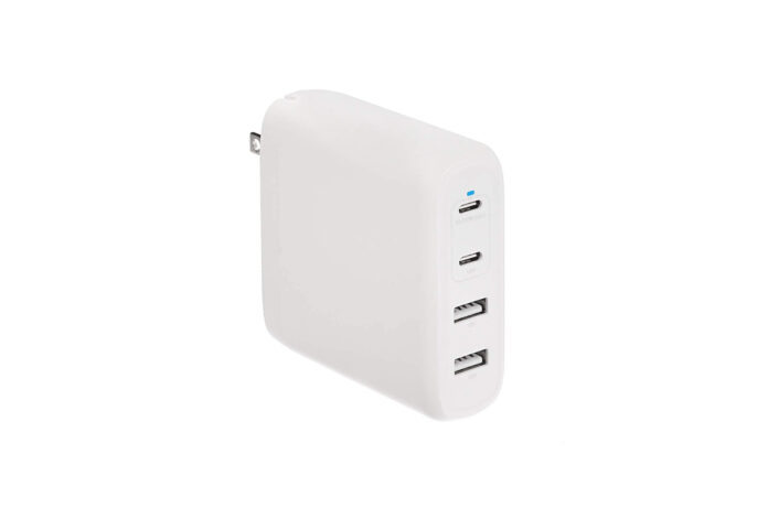 Amazon Basics 100W Four-Port GaN Wall Charger
