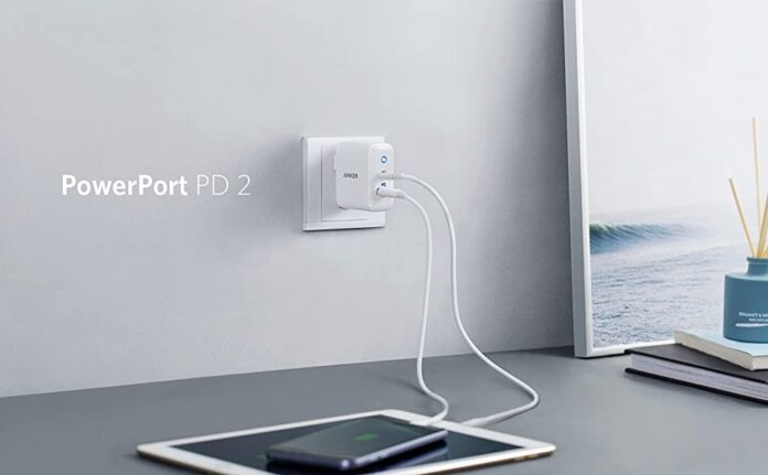 Anker 30W 2 Port Fast Charger