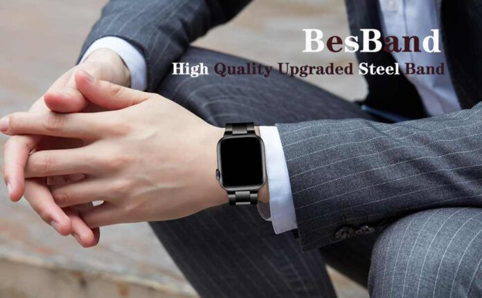 BesBand Stainless Steel Metal band
