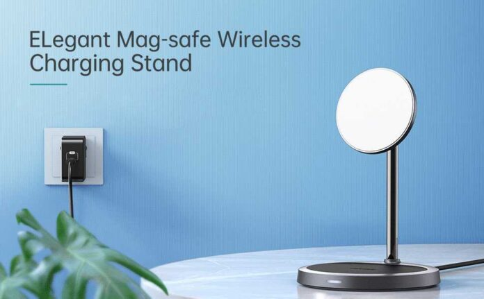 CHOETECH 2-in-1 Magnetic Wireless Charging Stand