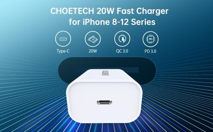 CHOETECH 20W USB C Wall Charger