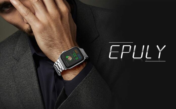 EPULY Apple Watch Stainless Steel Band