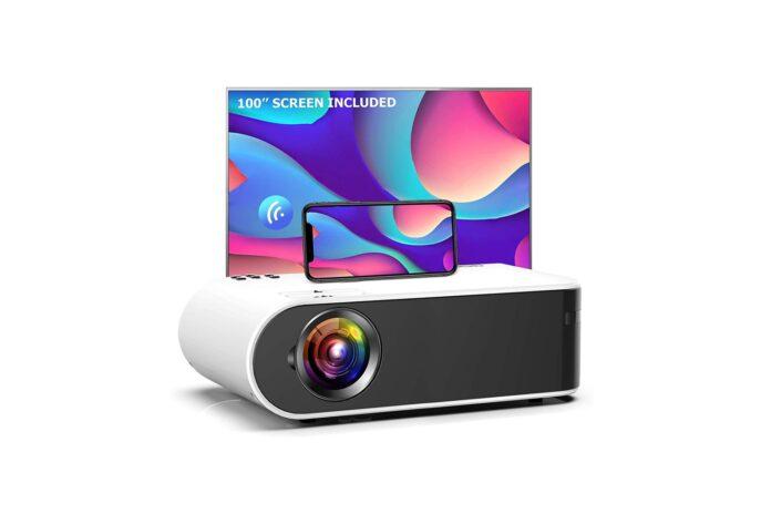 GooDee W18 WiFi Movie Projector