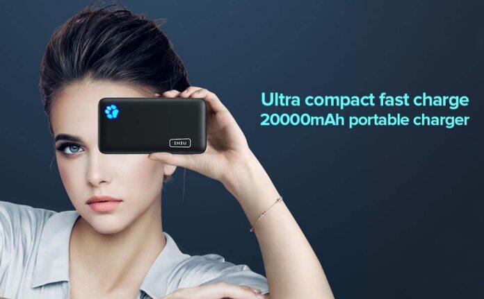 INIU Portable USB C 20000mAh Charger