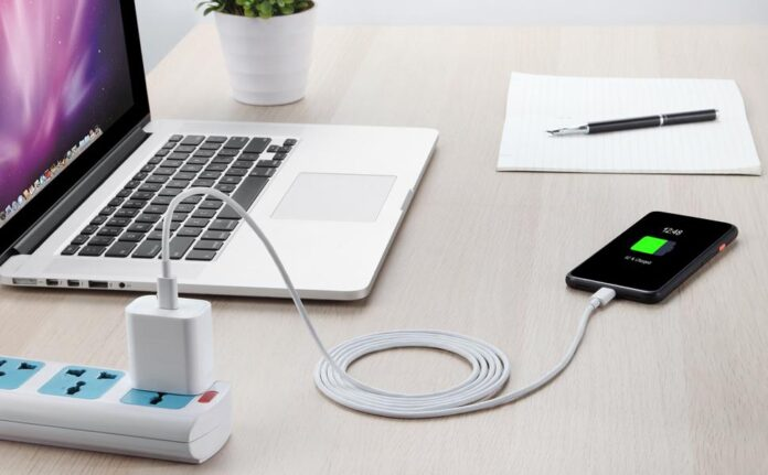 Jussmart USB C Fast Charger With a 6FT Lighting Cable