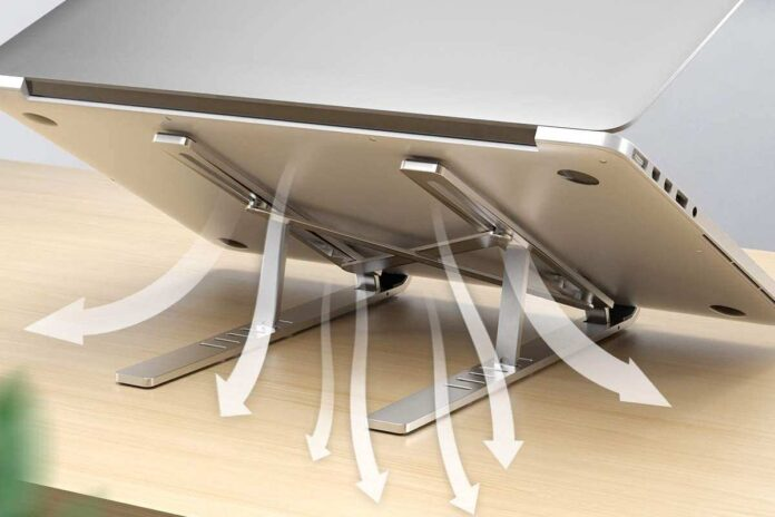 Licheers Adjustable Aluminum Notebook Stand