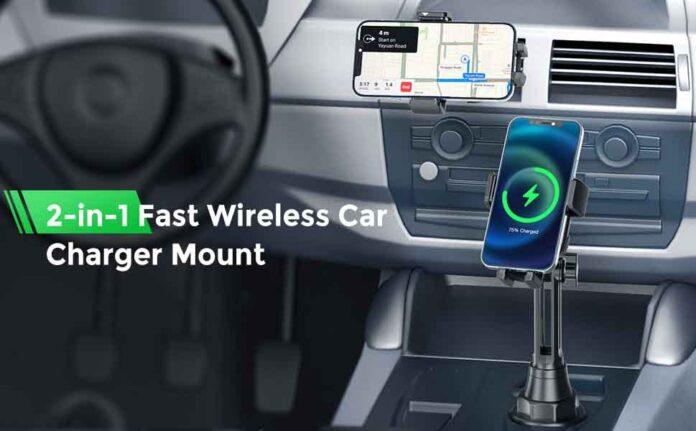 Mpow Wireless 15W Car Charger