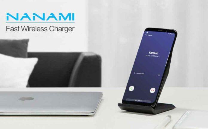 NANAMI Qi-Certified Wireless Charging Stand
