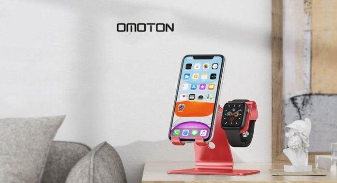 OMOTON 2 in 1 Universal Desktop Stand Holder