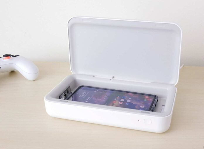 Samsung Electronics Samsung Qi Wireless Charger and UV Sanitizer