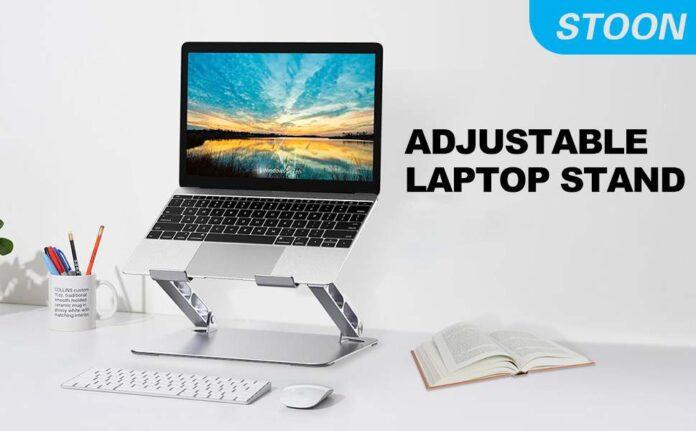 Stoon adjustable laptop stand
