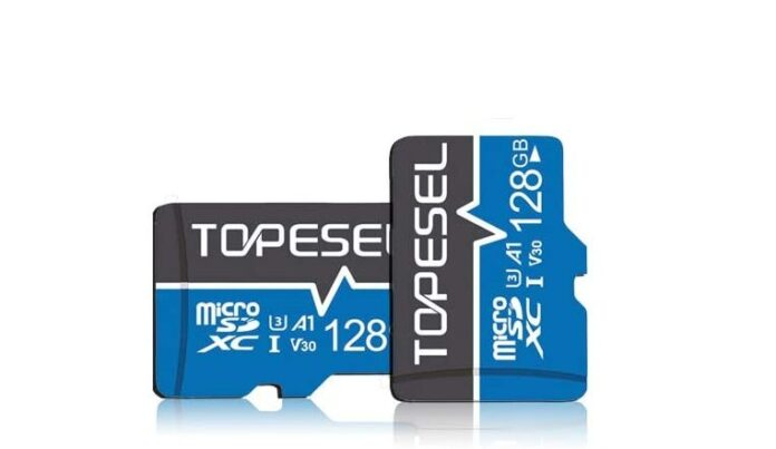 TOPESEL 128GB Micro SD Card Memory Cards