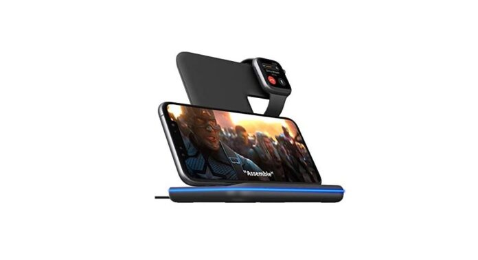 Wireless Charger,Any Warphone 3 in 1 Wireless Charging Stand