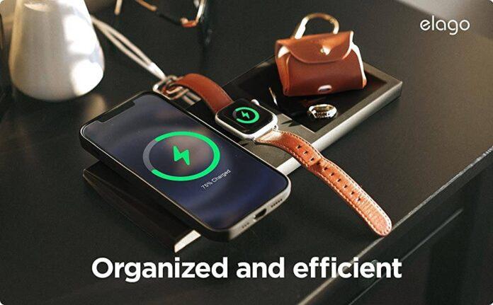 elago MS MagSafe Charging Tray Duo