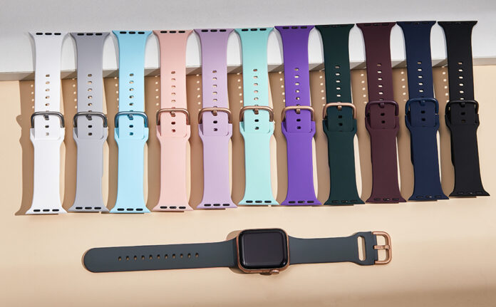 Adepoy 3 Pack Soft Silicone Sports Apple Watch Band