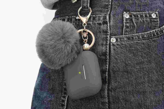 Filoto Silicone Protective AirPods Pro Case with Keychain