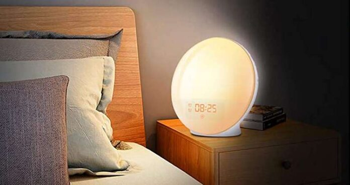 Fitfort Wake Up Light Sunrise Alarm Clock