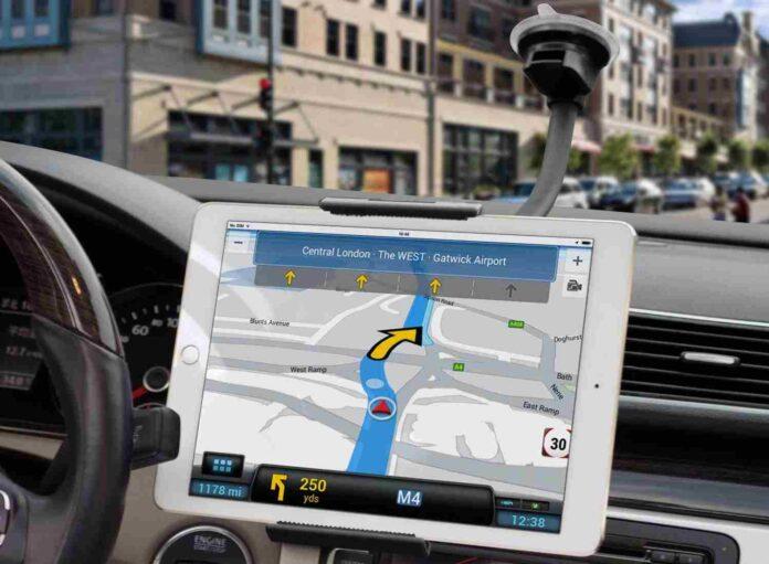 Gooseneck Tablet Car Mount Holder