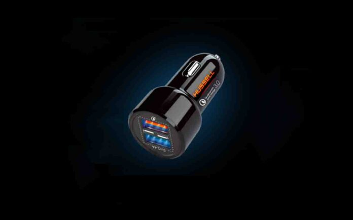 Hussell Car Charger Adapter