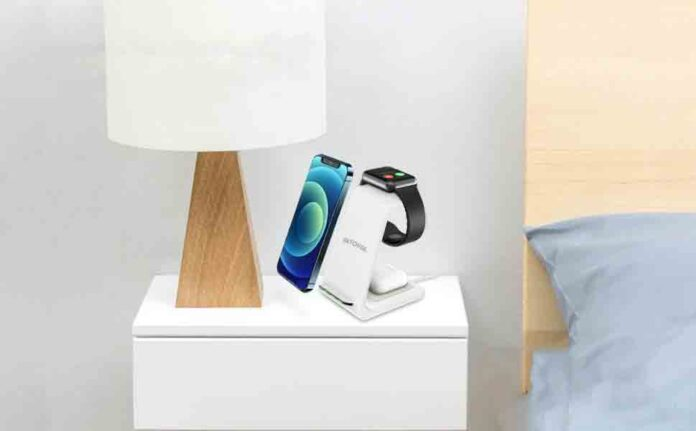 Intoval 3 in 1 Wireless Charging Station