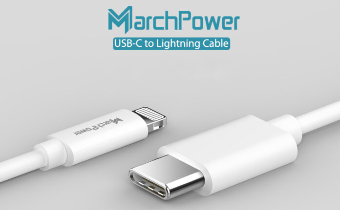 Marchpower USB C to Lightning Cable