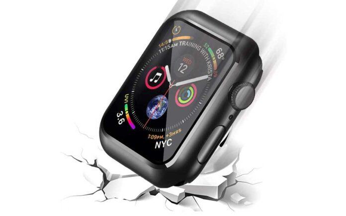 Smiling Hard PC Apple Watch Case