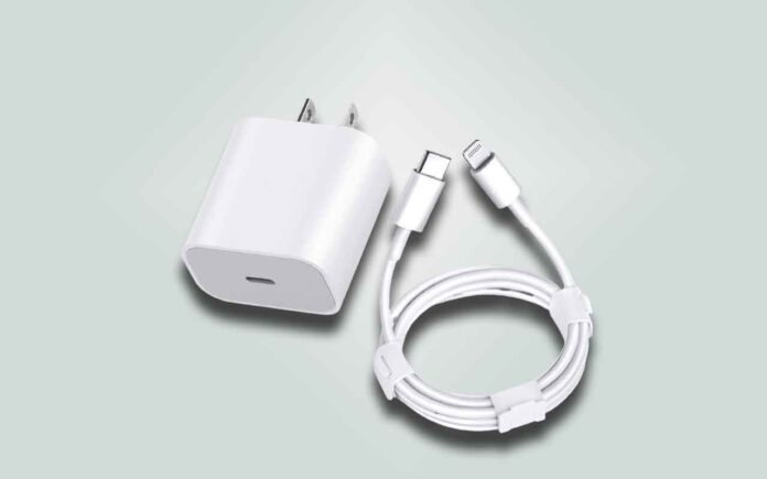 StinkLight 20W PD USB C Wall Charger with 3FT Type C to Lightning Cable