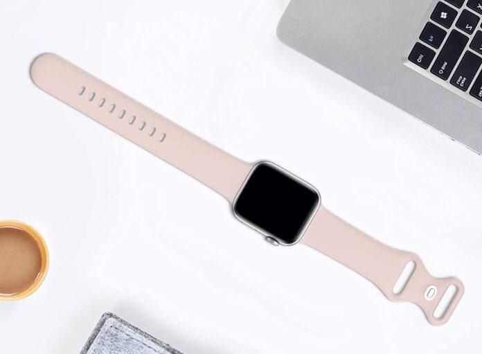 ZALAVER Silicone Sports Apple Watch Band