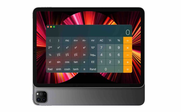 ipad calculator app
