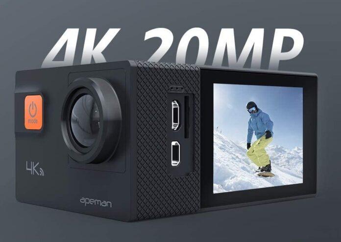 APEMAN A80 Action 4K Camera