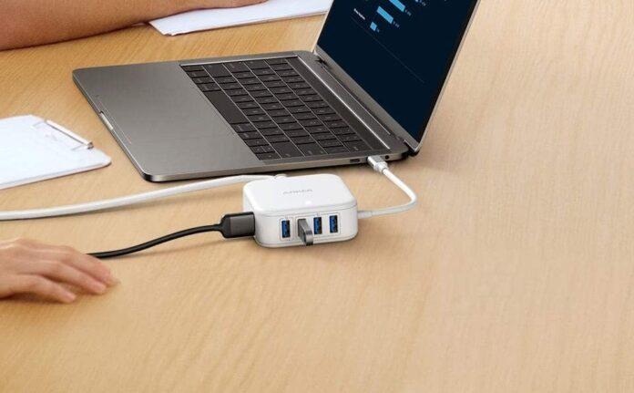 Anker PowerPort 5-in-1 37.5W USB-C Hub