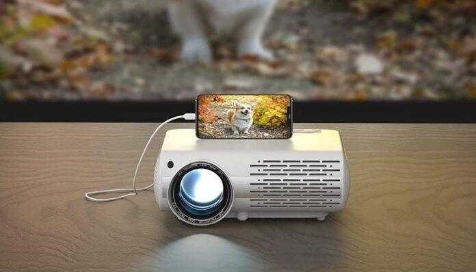 Crenova 6800 Lux Full HD Movie Projector