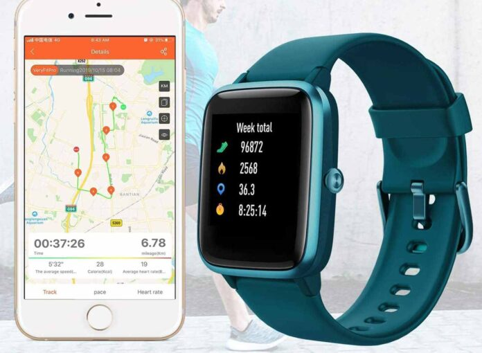 Fitpolo Fitness Tracker Smart Watch