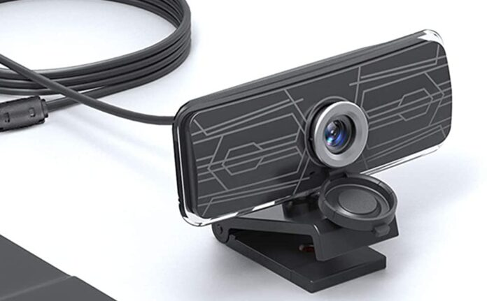 Gsou 1080p Webcam with Privacy Cover