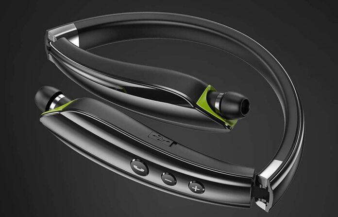 LOVOCOO Neckband Bluetooth Headphone