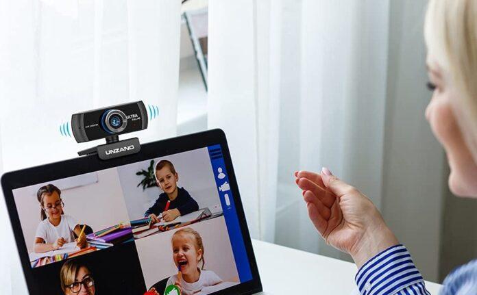 Unzano 1080P Full HD Webcam