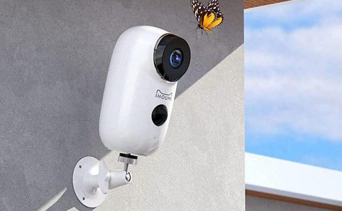 WiFi Battery Indoor Security Camera