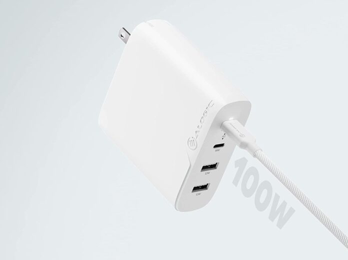 ALOGIC 100W 4-Port PD USB C Wall Charger