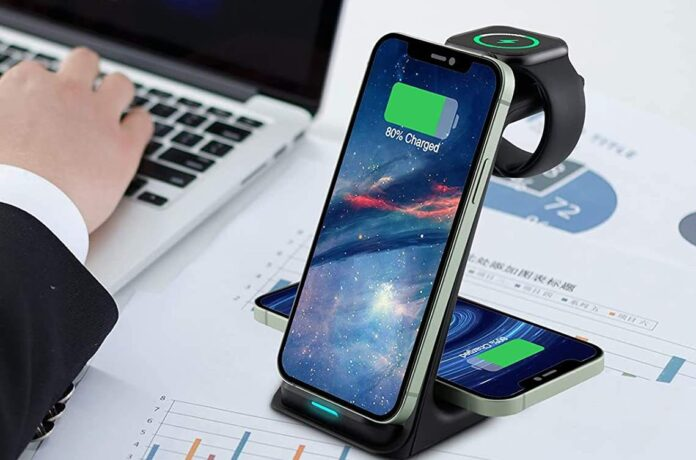Amugpill 3 in 1 Fast Wireless Charger