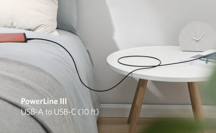 Anker Powerline III USB-A to USB-C Fast Charging Cord