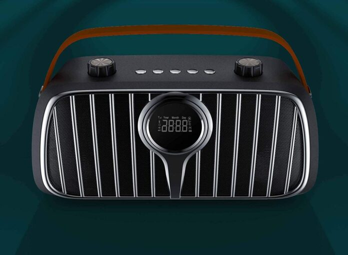 BUGANI M128 Bluetooth 5.0 Retro Speakers