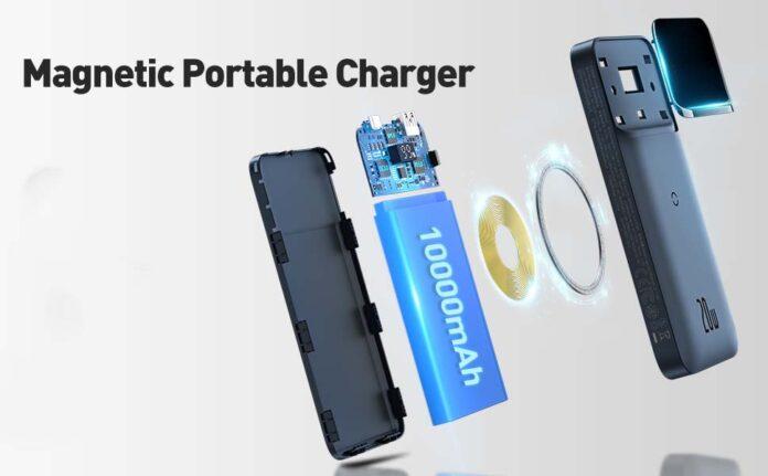 Baseus 10000mAh Magnetic Mag-Safe Portable Power Bank