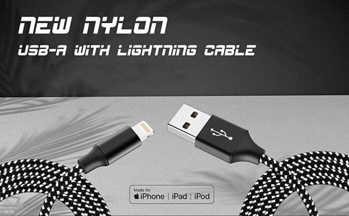 Bkayp 3Pack 10ft Mfi Certified Lightning Cable