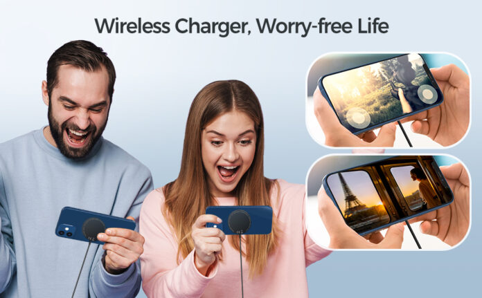 EuSeneo Wireless Charger with 3.3ft Cable