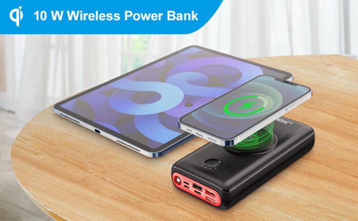 JIGA Wireless Power Bank 30000mAh