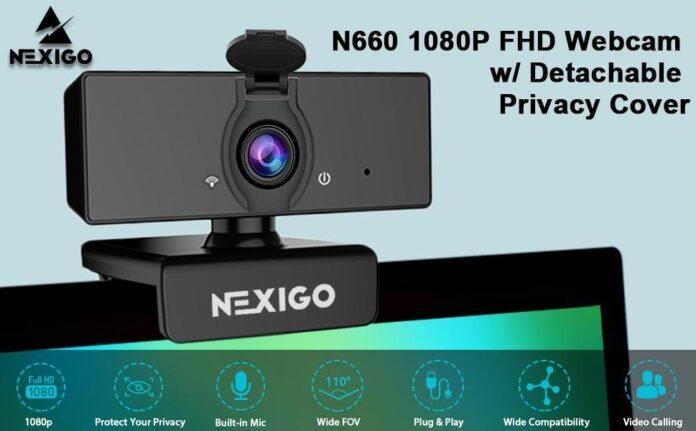 NexiGo N60 1080p FHD Webcam