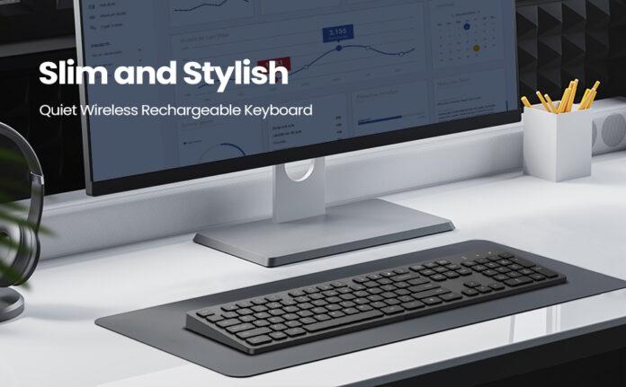 Vic Tech FL Wireless Keyboard