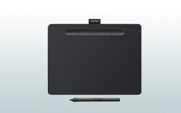Wacom Intuos medium wireless drawing tablet