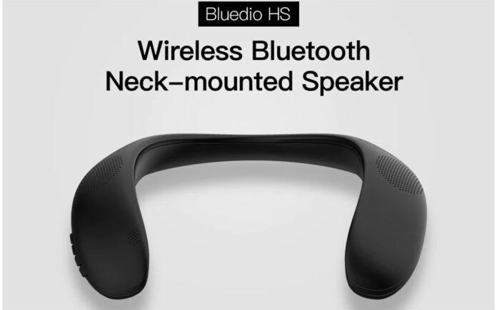 Bluedio Neckband Portable Bluetooth Speakers