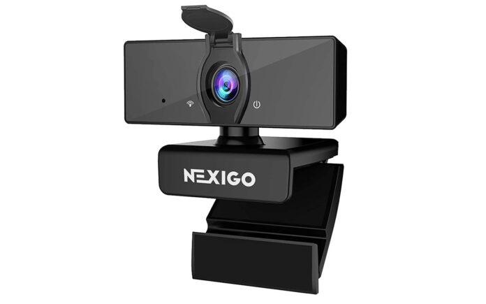 NexiGo 1080P Webcam with Dual Microphone & Privacy Cover